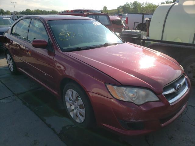 Subaru Vehiculos salvage en venta: 2009 Subaru Legacy 2.5