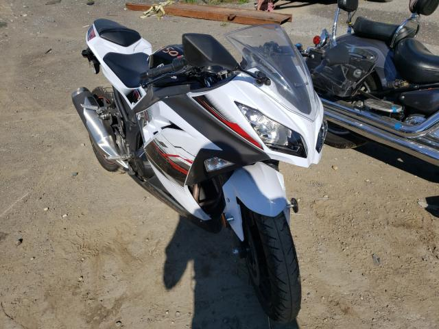 Salvage cars for sale from Copart Waldorf, MD: 2014 Kawasaki EX300 A