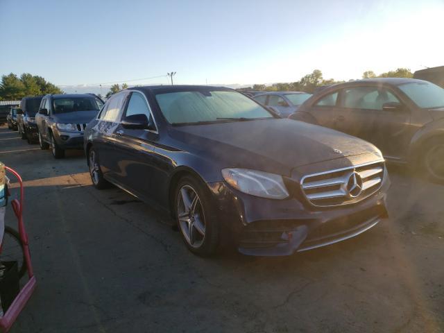 Mercedes-Benz salvage cars for sale: 2019 Mercedes-Benz E 450 4matic