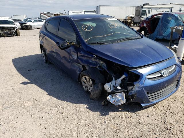 Salvage cars for sale at Tucson, AZ auction: 2016 Hyundai Accent SE