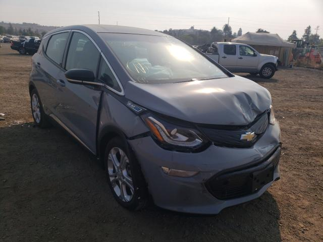 Salvage cars for sale from Copart San Martin, CA: 2020 Chevrolet Bolt EV LT