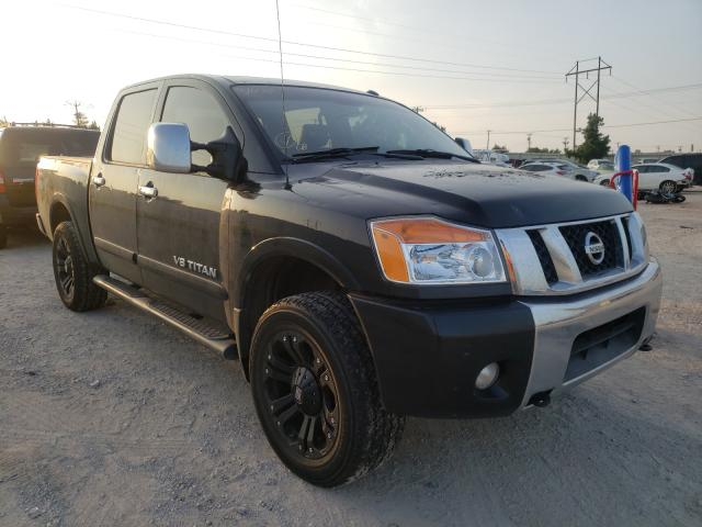 Salvage cars for sale from Copart Oklahoma City, OK: 2009 Nissan Titan XE