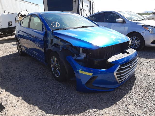 Salvage cars for sale at Tucson, AZ auction: 2017 Hyundai Elantra SE