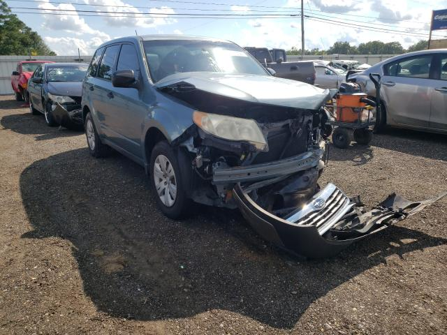 Salvage cars for sale from Copart Newton, AL: 2010 Subaru Forester 2