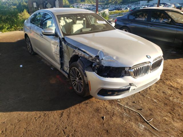 Salvage cars for sale from Copart Fairburn, GA: 2019 BMW 540 I
