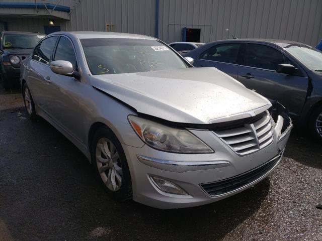 Salvage cars for sale at Memphis, TN auction: 2013 Hyundai Genesis 3