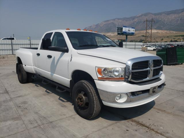 Salvage cars for sale from Copart Farr West, UT: 2007 Dodge RAM 3500 S