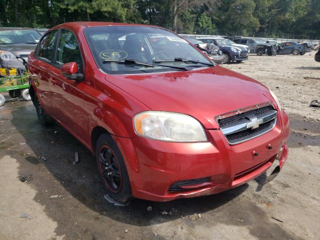 Salvage cars for sale from Copart Austell, GA: 2010 Chevrolet Aveo LS