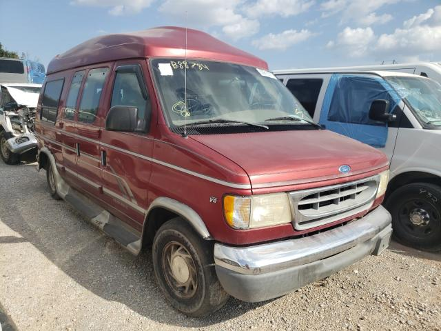 Salvage trucks for sale at Oklahoma City, OK auction: 1997 Ford Econoline