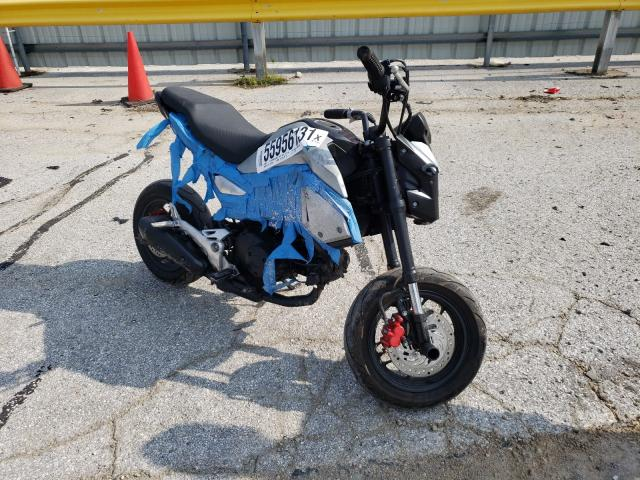 Salvage cars for sale from Copart Rogersville, MO: 2019 Honda Grom 125