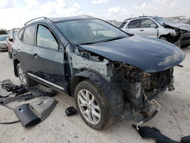 Salvage cars for sale from Copart San Antonio, TX: 2013 Nissan Rogue S