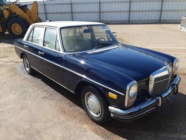 Salvage cars for sale from Copart Phoenix, AZ: 1972 Mercedes-Benz 250