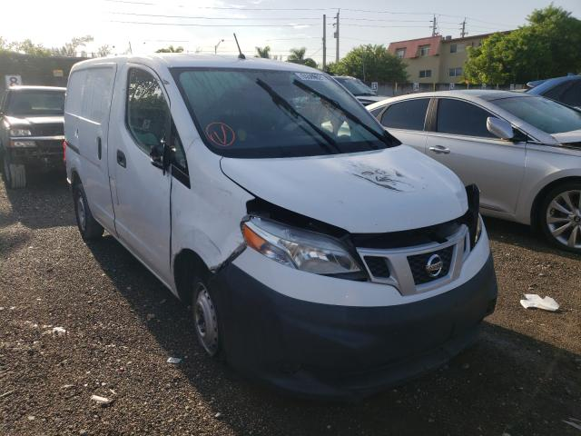 Salvage trucks for sale at Opa Locka, FL auction: 2017 Nissan NV200 2.5S