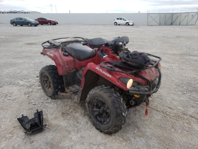 Salvage cars for sale from Copart Greenwood, NE: 2018 Can-Am Outlander