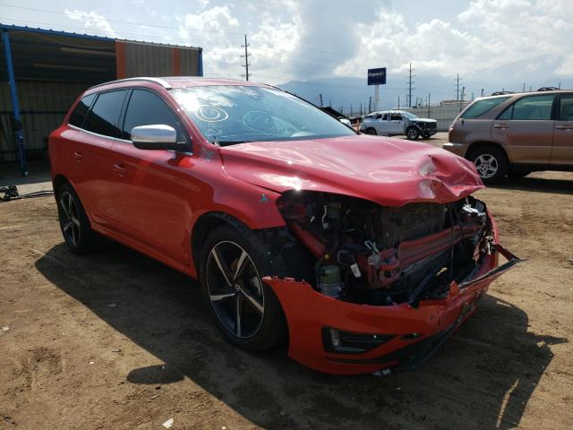 Volvo salvage cars for sale: 2016 Volvo XC60 T6 R