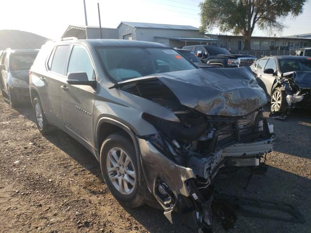 Salvage cars for sale at Albuquerque, NM auction: 2019 Chevrolet Traverse L