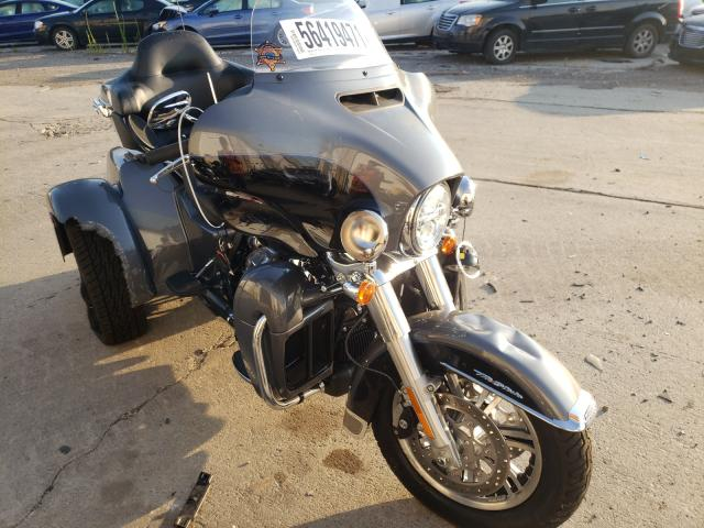 Salvage motorcycles for sale at Woodhaven, MI auction: 2021 Harley-Davidson Flhtcutg