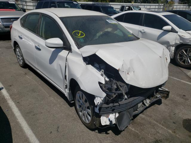 Salvage cars for sale from Copart Rancho Cucamonga, CA: 2019 Nissan Sentra S