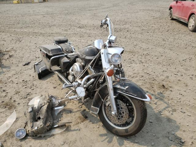 Salvage motorcycles for sale at Eugene, OR auction: 2003 Harley-Davidson Flhr