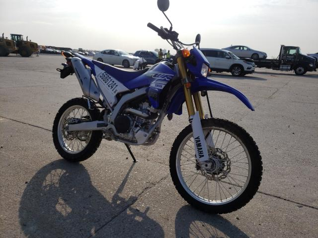 Salvage motorcycles for sale at New Orleans, LA auction: 2020 Yamaha WR250 R