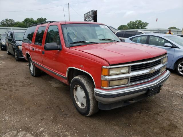 Salvage cars for sale at Wichita, KS auction: 1996 Chevrolet Suburban K