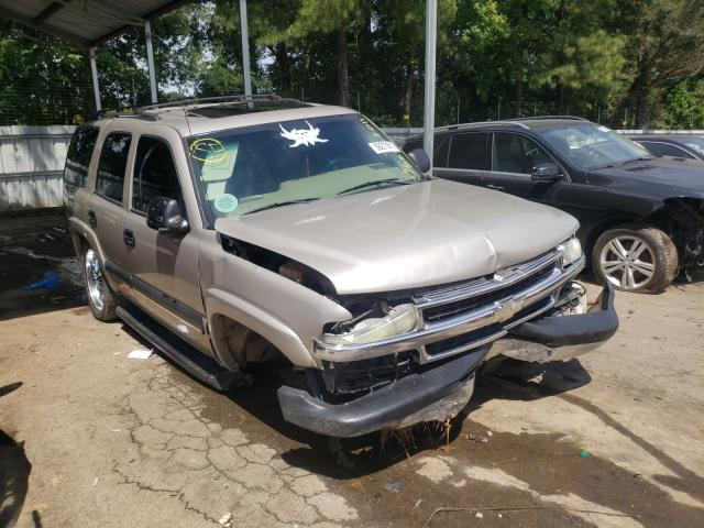 Salvage cars for sale from Copart Austell, GA: 2004 Chevrolet Tahoe C150