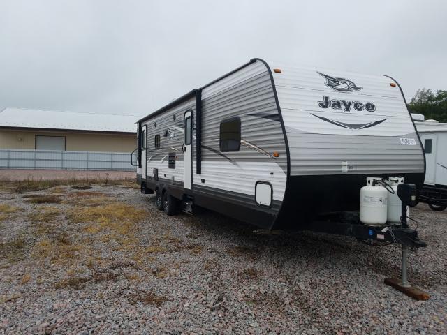 Jayco Travel Trailer salvage cars for sale: 2016 Jayco Travel Trailer