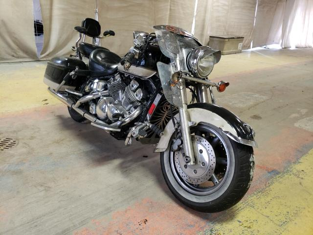 Salvage motorcycles for sale at Indianapolis, IN auction: 1997 Yamaha XVZ13 LT