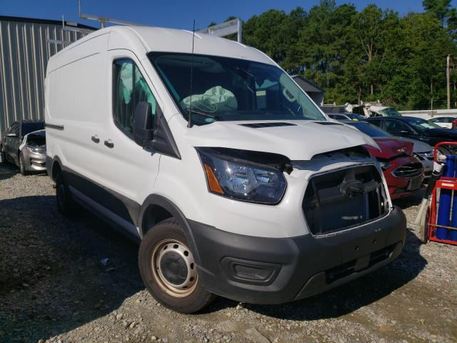 Salvage cars for sale at Seaford, DE auction: 2020 Ford Transit T