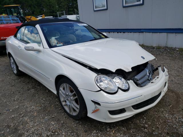 Salvage cars for sale at Lyman, ME auction: 2008 Mercedes-Benz CLK 350