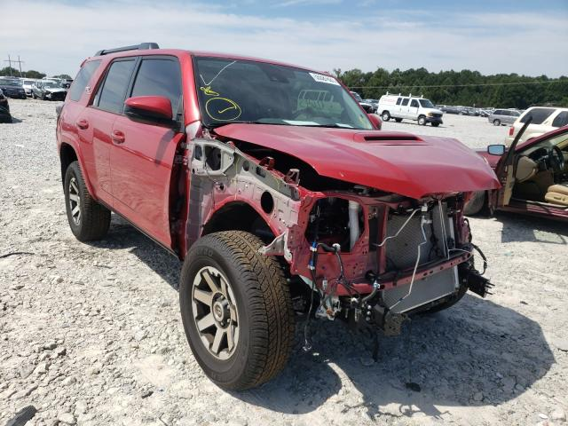 Toyota salvage cars for sale: 2020 Toyota 4runner SR