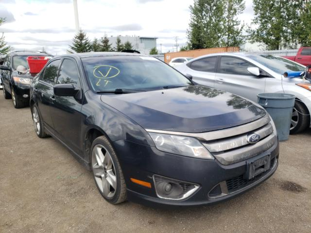 Salvage cars for sale at Bowmanville, ON auction: 2012 Ford Fusion Sport