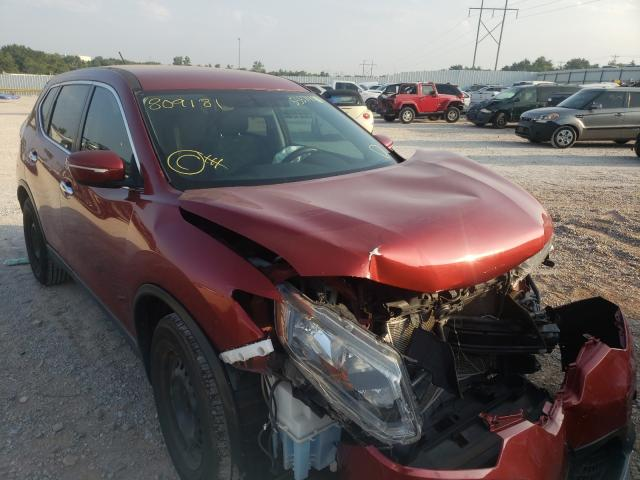 Salvage cars for sale at Oklahoma City, OK auction: 2015 Nissan Rogue S