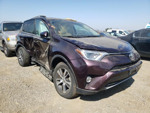 Salvage cars for sale from Copart San Martin, CA: 2016 Toyota Rav4 XLE