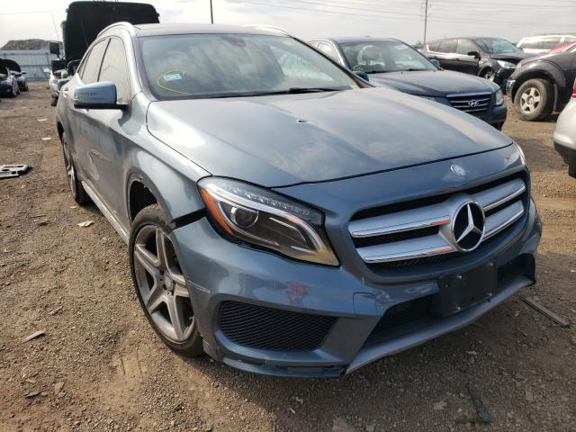 Salvage cars for sale from Copart Elgin, IL: 2015 Mercedes-Benz GLA 250 4M