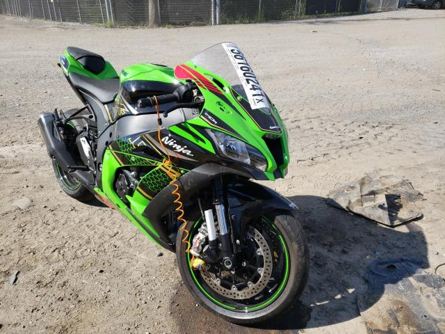 Salvage cars for sale from Copart Waldorf, MD: 2020 Kawasaki ZX1002