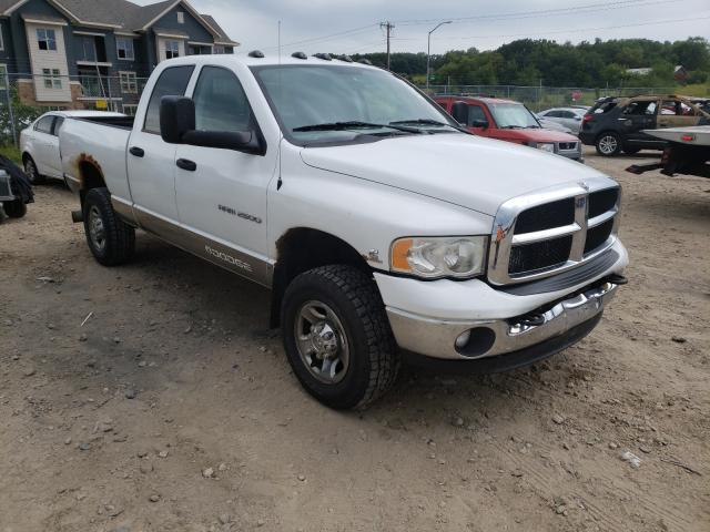 Salvage cars for sale from Copart Madison, WI: 2003 Dodge RAM 2500 S