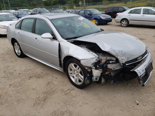 Salvage cars for sale from Copart Madison, WI: 2011 Chevrolet Impala LT