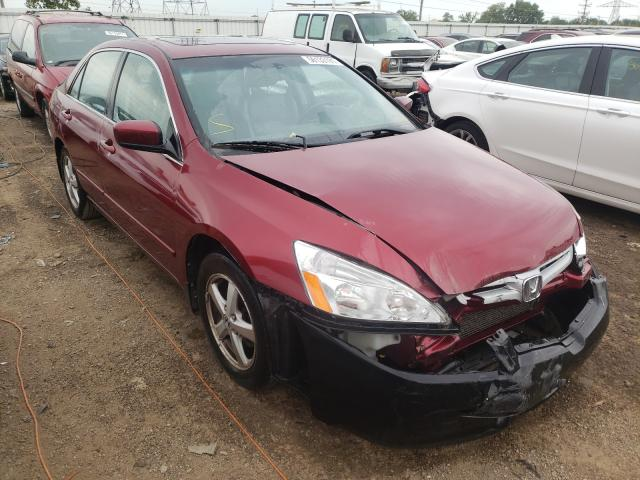Salvage cars for sale at Elgin, IL auction: 2004 Honda Accord EX