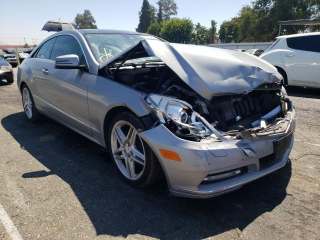 Salvage cars for sale from Copart Van Nuys, CA: 2013 Mercedes-Benz E 350