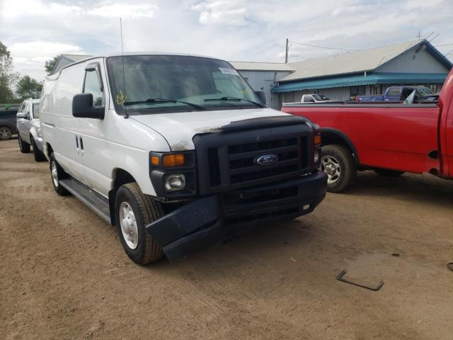 Salvage cars for sale from Copart Pekin, IL: 2008 Ford Econoline