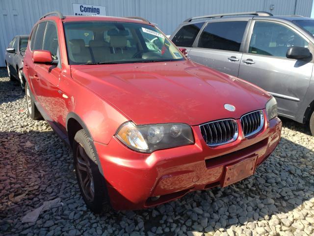BMW X3 Vehiculos salvage en venta: 2006 BMW X3