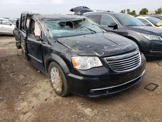 Salvage cars for sale at Bridgeton, MO auction: 2016 Chrysler Town & Country