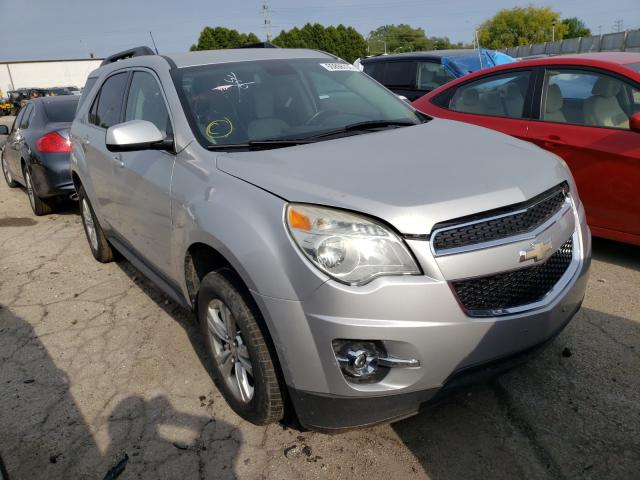 Salvage cars for sale from Copart Cudahy, WI: 2012 Chevrolet Equinox LT