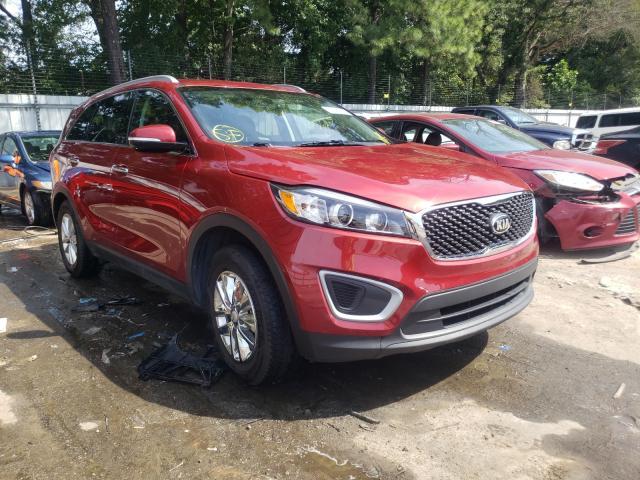 Vehiculos salvage en venta de Copart Austell, GA: 2018 KIA Sorento LX