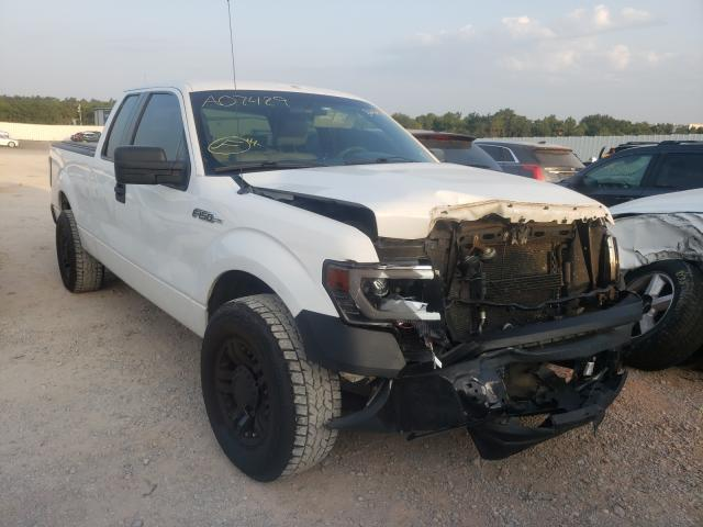 Salvage trucks for sale at Oklahoma City, OK auction: 2009 Ford F150 Super