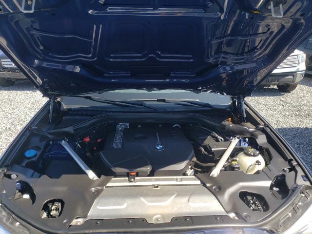 2018 BMW X3 XDRIVE3 5UXTR9C57JLC80838