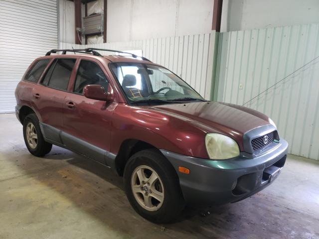 Vehiculos salvage en venta de Copart Lufkin, TX: 2004 Hyundai Santa FE G