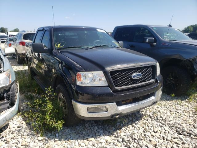 Salvage trucks for sale at Cicero, IN auction: 2004 Ford F150 Super