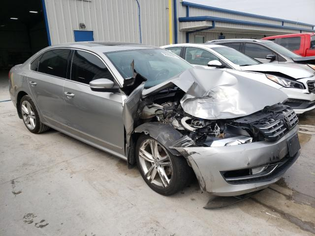 Salvage cars for sale from Copart Alorton, IL: 2014 Volkswagen Passat SEL